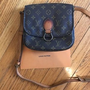Authentic Louis Vuitton Saint Cloud MM Monogram